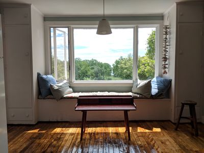 Best spot to enjoy your morning coffee or read a book