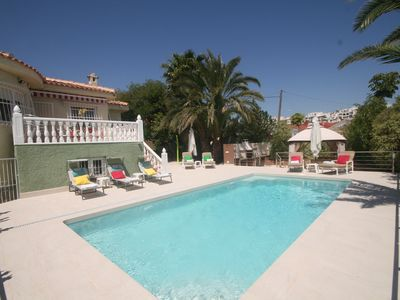 Photo for Spacious luxury villa - large private pool + games room ~ FREE Wi Fi
