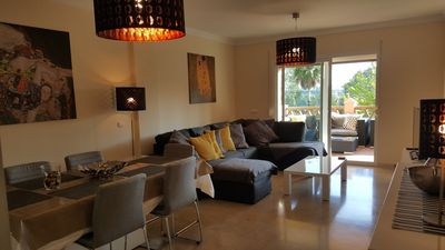 Photo for New modern apartment in Mijas Golf minutes from Fuengirola A/C Fibre Optic WiFi