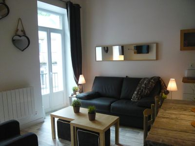 Photo for NEW DUPLEX 3 * WIFI, 4 TO 6 PEOPLE, 3 PCS, DOWNTOWN, CLOSE TO THERMAL, 3KM TRACK