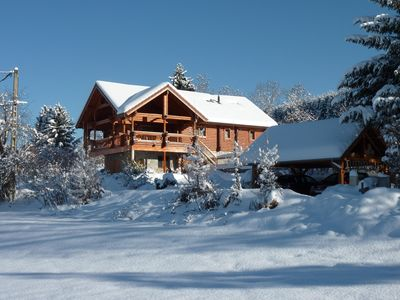 "Photo for Chalet 8 people ""Les 7 Laux Prapoutel"" -"
