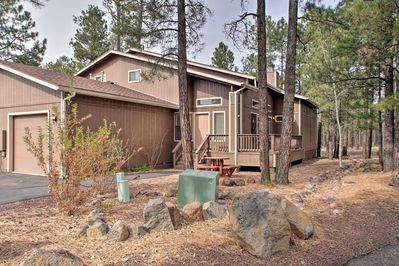 This 3-bedroom, 3-bath home sleeps up to 8 guests.