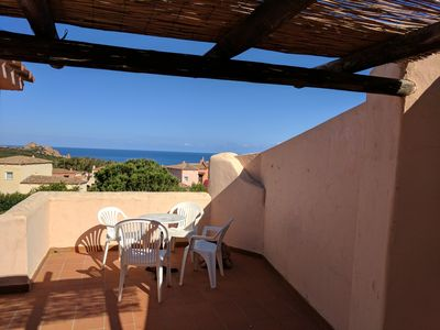 Photo for Panoramic Sea Views and Sun Terrace, 7 min Walk To Beach