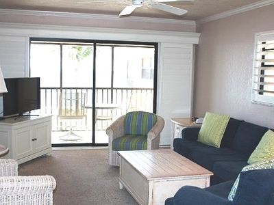 Photo for Ocean's Reach - Unit 3A4 - Directly Beachfront!
