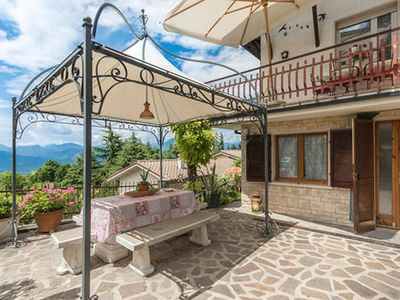 Photo for Holiday apartment in San Zeno  with beautiful lake view