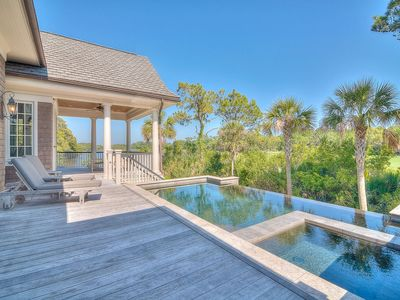 Photo for 5200 Sq Ft of Luxury! Vanderhorst Home with Private Pool and Hot Tub