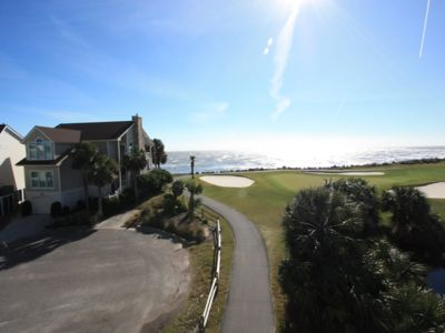 Photo for Ocean and Golf Views, Beautiful 3 Bedroom Home, Golf Cart Included
