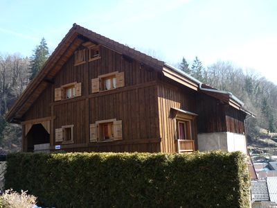 Photo for 2BR Barn Vacation Rental in Taninges, Auvergne-Rhône-Alpes