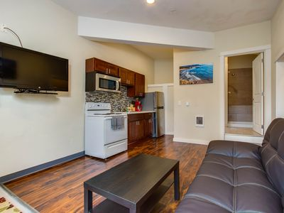 Photo for Dog-friendly cozy coastal condo just moments from the beach!