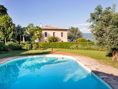 Photo for Last minute offer July / August in High quality Villa with private pool in Umbria