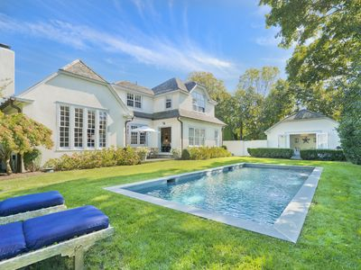 Photo for Luxury Captains' Row Home in Heart of Sag Harbor Village