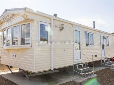 Photo for 6 berth static caravan by Hunstanton beach and pets are welcome ref 13001