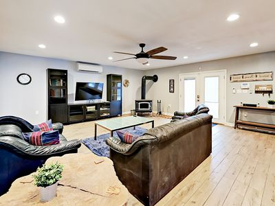 Photo for Newly Updated 3,200 Square Foot Mountain Home w/ Sauna & Backyard Fire Pit
