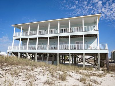 Photo for Spring Into A Vacation ~ Dog Friendly ~ Hang 10 Beach House ~ Remodeled 10 BR ~ Heated Plunge Pool
