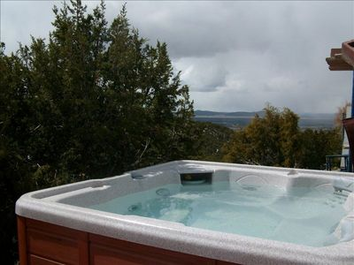 Photo for Steam Shower/Hot Tub-Fabulous Views! In/Out Fireplaces-Free Wood-180+ reviews!