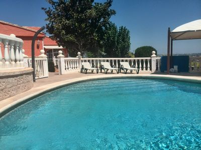 Photo for Apartment in splendid villa with big garden and incredible views.
