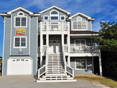 Photo for Tequila Sunrise: 7 BR / 5 BA house in Nags Head, Sleeps 22