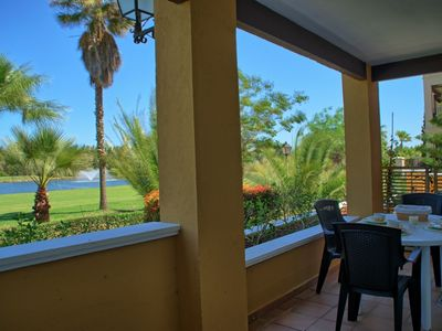 Photo for 2BR Apartment Vacation Rental in Isla Canela, Huelva