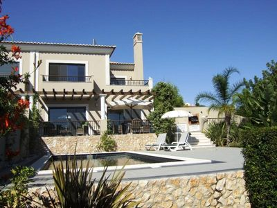 Photo for Luxury modern villa with pool and lovely views of Almancil A318