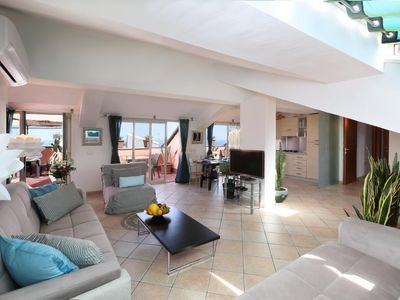 Photo for Holiday apartment Taormina for 4 - 8 persons with 4 bedrooms - Penthouse holiday apartment