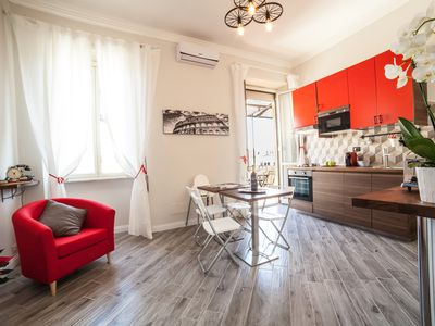 Photo for Clodio10 Exclusive Apartment - 2 Rooms-2 Bathrooms-Living room Kitchen-Balcony