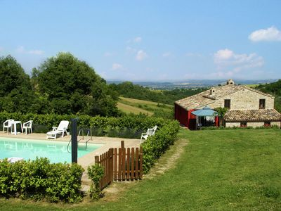 Photo for Charming holiday home from the 16th century with pool and large garden in the beautiful nature