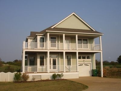 Photo for $350 off June Exceptional Beach Home on The Currituck Club Golf Course- Corolla-