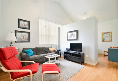 Living Area - Welcome to Austin! This apartment is professionally managed by TurnKey Vacation Rentals.