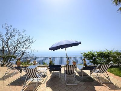Photo for 3 bedroom Villa, sleeps 8 in Praiano with Pool, Air Con and WiFi