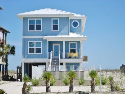 Photo for Beachfront Luxury, Private Pool, Great Family Gathering Home 'Sea Blue'