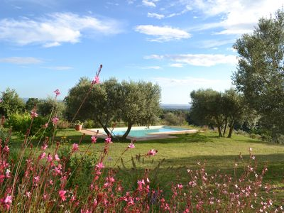 Photo for Farmhouse in the Tuscia with swimming pool and large garden
