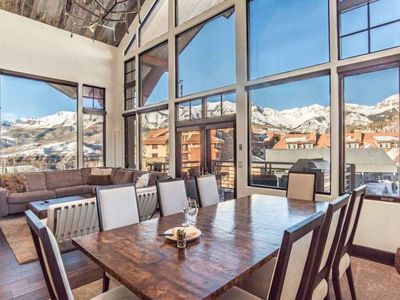 Photo for 3 Bedroom, 3.5 Bathroom Ski in/out Penthouse in the Heart of Mountain Village