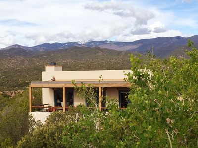 Photo for Exquisite Panoramic Views From This Elegant, Modern Ridge-top Adobe Casita