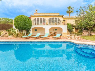 Photo for Villa Tesoro Park: Marvellous Villa in Jávea, on the Costa Blanca, only 10 min from the Arenal beach