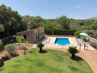 Photo for Luxury Property with Garden and Pool - Villa Es Voltor Negre