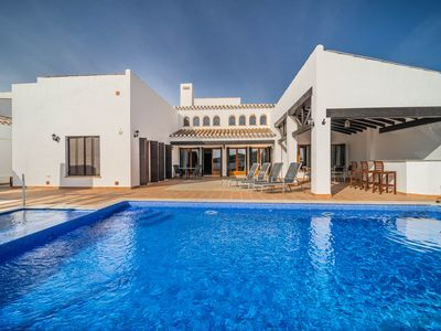 Photo for Stunning villa with private pool and Jacuzzi - El Valle Golf Resort - TA11 MURCIA VACATIONS