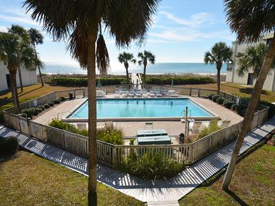 Photo for Beach Front 2 Bedroom w/a Pool (sleeps 6) WEEKLY ONLY SPRING BREAK SUMMER SATSAT