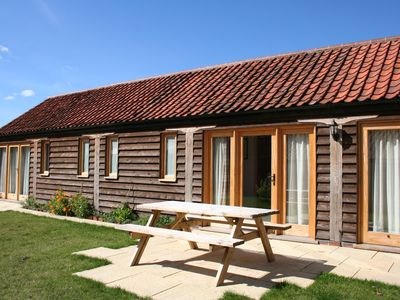 Photo for Family friendly barn conversion on beautiful farm - Kingfisher at North Far