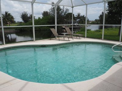 Naturally Beautiful in NW Cape Coral Florida! Relax in style!