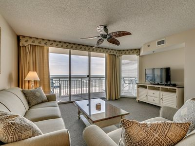 Photo for Upscale Oceanfront 4th Floor Condo, Outdoor Lazy River   Crescent Shores - S 410