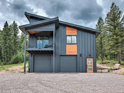 Photo for NEW! Modern Evergreen Cabin on 35 Acres w/ Views!