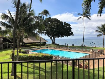Photo for Ma'alaea Surf, Unit G9 - Beautiful 2BR Oceanfront Condo, Amazing Sunsets!