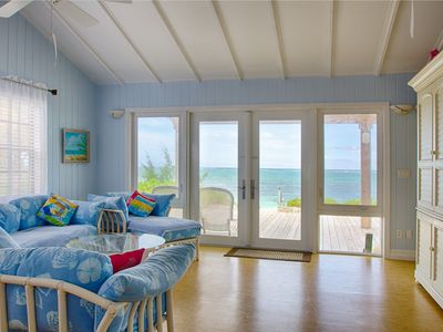 Photo for Tranquility Beach Cottage . . . Private, Secluded, Right On Beach!