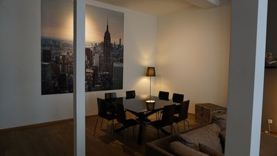 Photo for Royal spacious and stylishly furnished apartment 150 m2 in the center of Antwerp