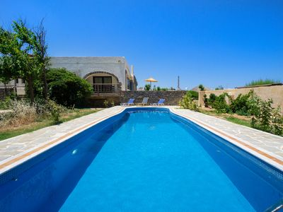 Photo for Villa Elsa, beachfront, with 3 bedrooms and private pool