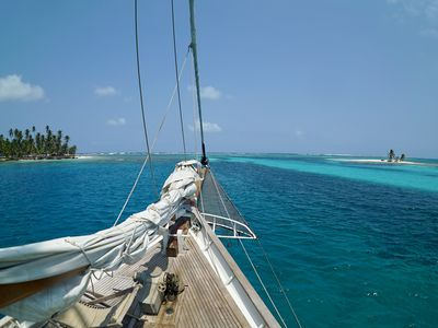 Photo for The only boat in San Blas that played in Pirates of the Caribbean!