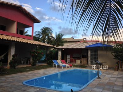Photo for Large and nice house in gated community on the beach of Espera in Itacimirim-B