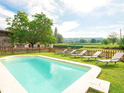 Photo for Large villa in the volcanic area of Olot, for 21 people with extensive garden