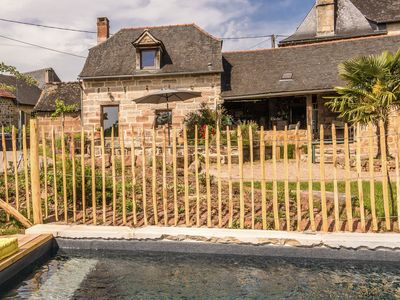 Photo for Comfortable house, with use of the swimming pool, in the rolling French countryside.