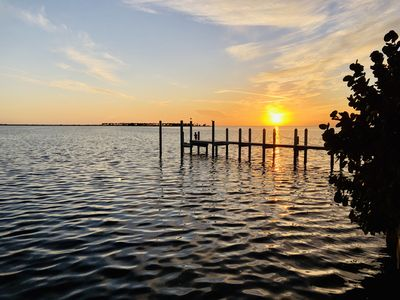 Gulf Waterfront Home On Seabreeze Island With Incredible Water Views and Pool